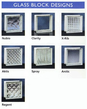 glass blocks etc glass block styles glass block