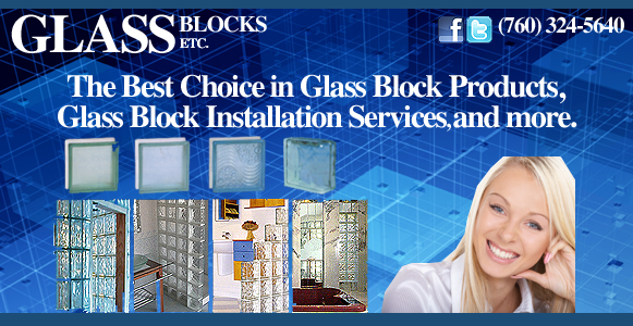 Glass Blocks Etc. - The Best Choice in Glass Block Products, Glass Block Installation Services and more.