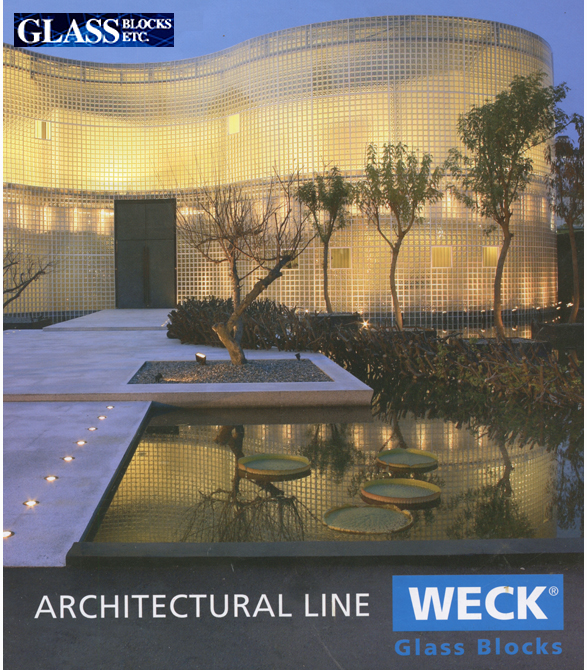 Weck Architectural Line of Glass Block